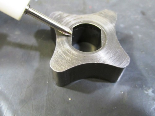 Oil Pump Inner Rotor Flat Face-Faces You When You Install Rotor