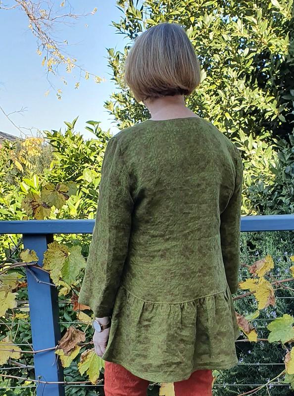 Style Arc Sewing Pattern Jules Woven Tunic Sizes 04-16