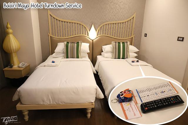 Baisirimaya Hotel Turndown Service