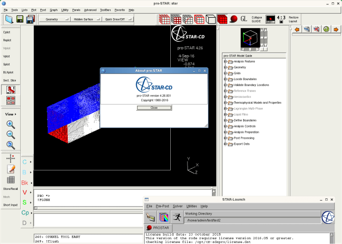 Working with CD-Adapco STAR-CD-4.26.011 full license