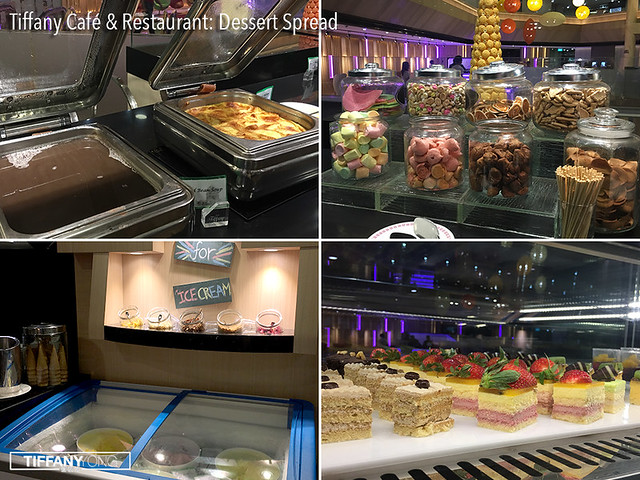 Tiffany Cafe and Restaurant Dessert Spread 2