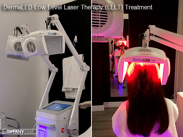DermaLED Light Therapy Treatment