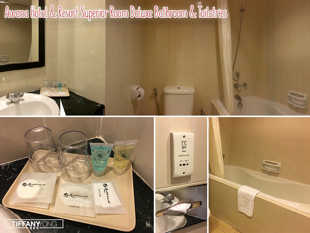 Awana Hotel and Resort Bathroom