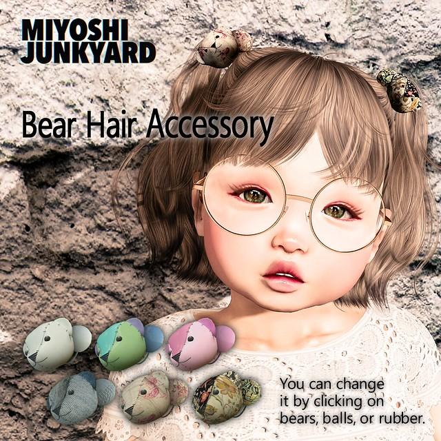[MJY] Bear Hair Accessory