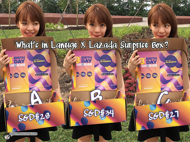 tiffany-yong-laneige-x-lazada-box