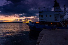 Biograd sunset