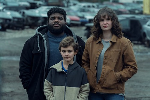 Ashleigh Cummings as Vic McQueen, Jonathan Langdon as Lou Carmody, Jason David as Wayne McQueen - NOS4A2 _ Season 2 - Photo Credit: Zach Dilgard/AMC