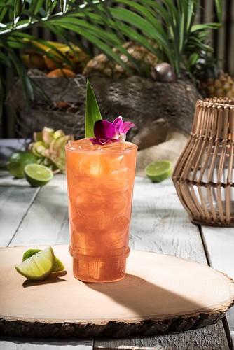 Tiki Tai Cocktail from Isla Nu-Bar at Universal Studios Hollywood