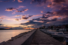 Sunset in Biograd