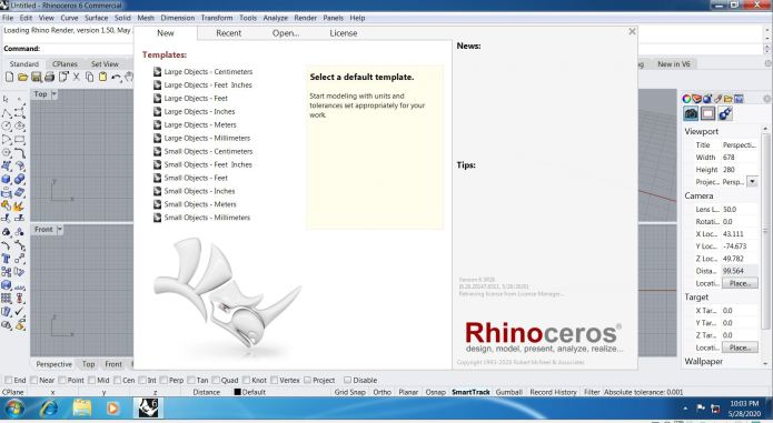 Working with Rhinoceros 6.26.20147.06511 full license