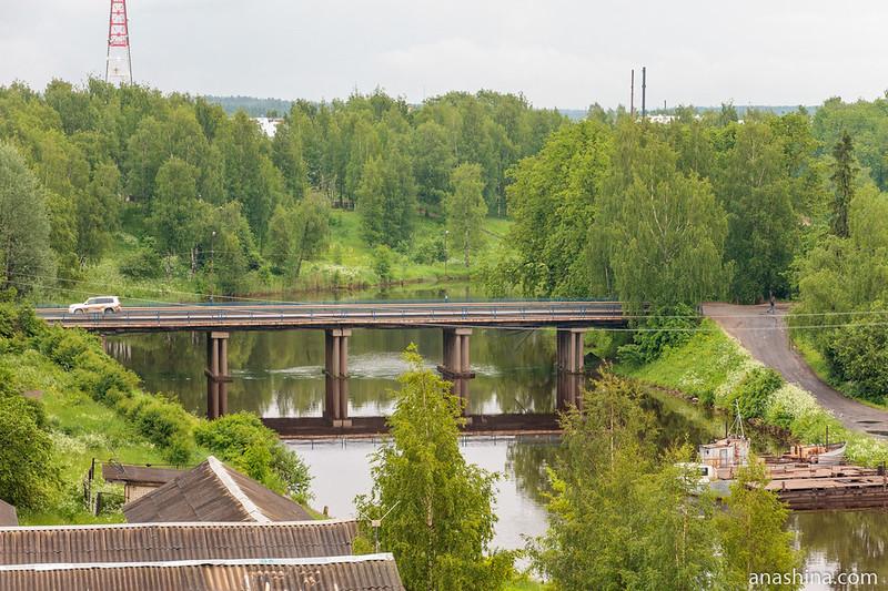 Сиверсов мост, Вытегра