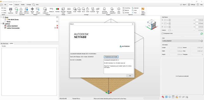 Working with Autodesk Netfabb Ultimate 2021 R0 x64 full license