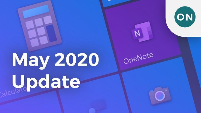 Windows 10 May 2020 Update才釋出 微軟就警告有多項問題