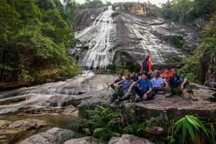 Jelawang Waterfall, Mt. Stong