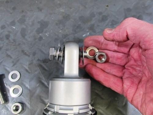 Gazi Top Shock Mounting Hardware Detail