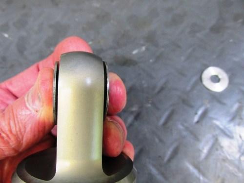 Gazi Thin Flat Washers Go On Both Sides Of Top Shock Bushing