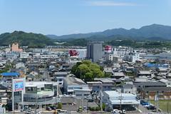 Views from Saiseikai Shigaken Hospital (済生会滋賀県病院) May 28, 2020