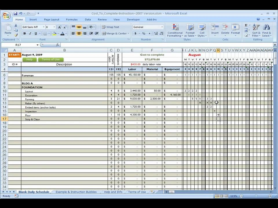We've also included a template to track budgeted expenses with actual job costs on any job. Construction Company Budget Template Ten Mind Blowing Reas Flickr