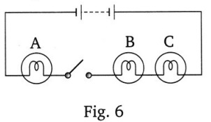 CBSE Class 7 Science Electric Current and its Effects Worksheets 9