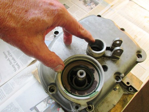 Three Shaft Bearing Locations For Heating