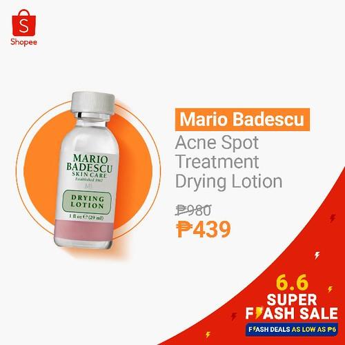 Mario Badescu Shopee 6.6 Super Sale
