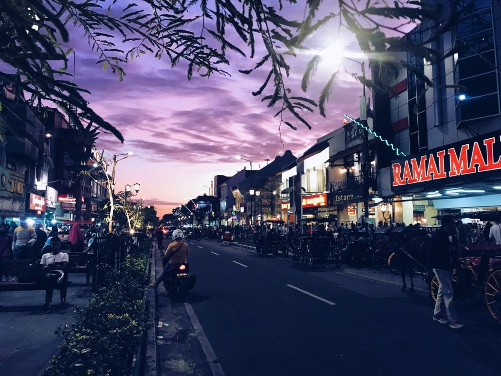 27 Dec 2018: Malioboro Road | Yogyakarta, Indonesia