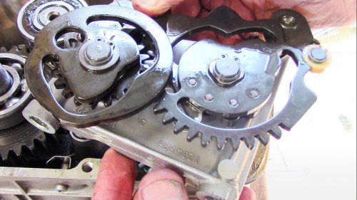 Shift Cam Mechanism
