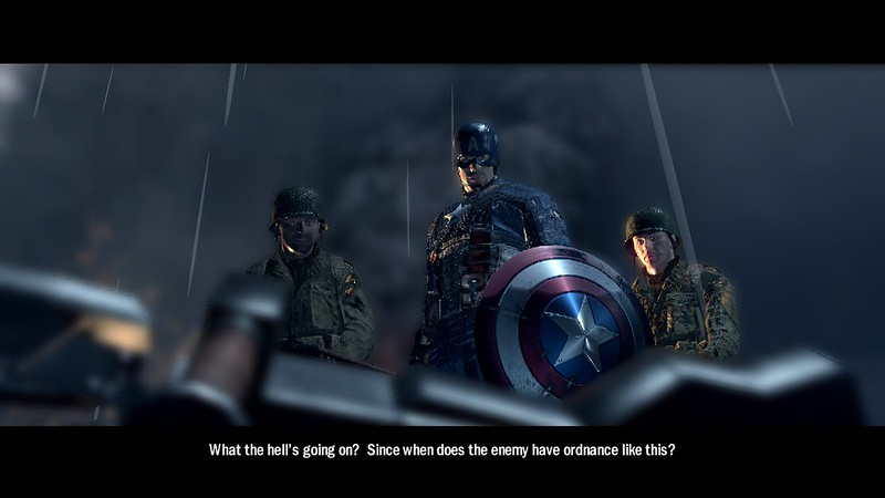 Captain America: Super Soldier - French Front