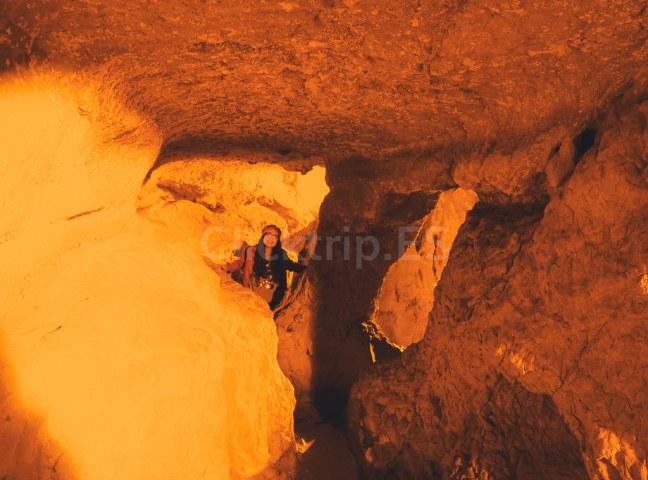 Cueva Pequeña · Interior Cuevas Zugarramurdi · Turismo de Navarra_ClickTrip