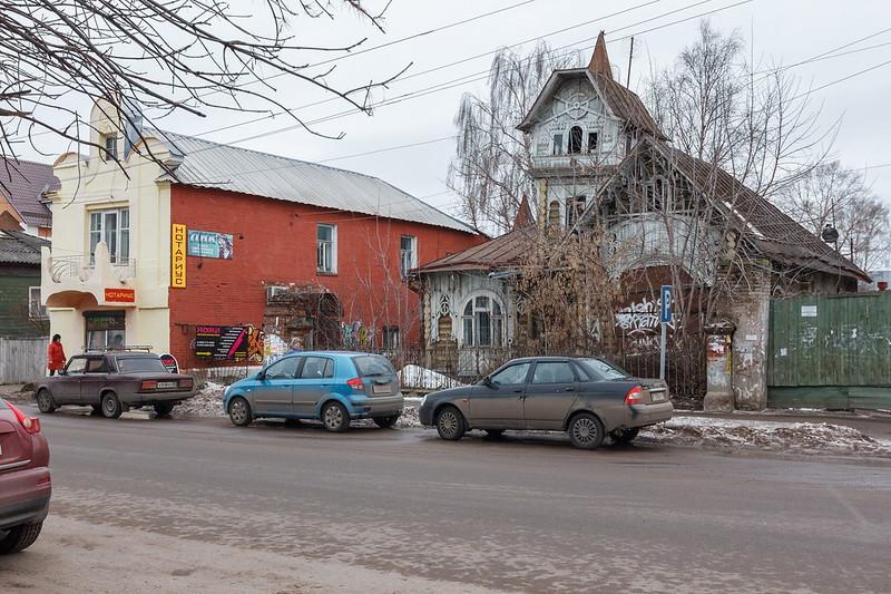 Дома братьев Лужиных, Кимры