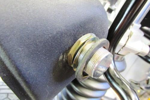 Headlight Left Side, Inside Hardware Detail