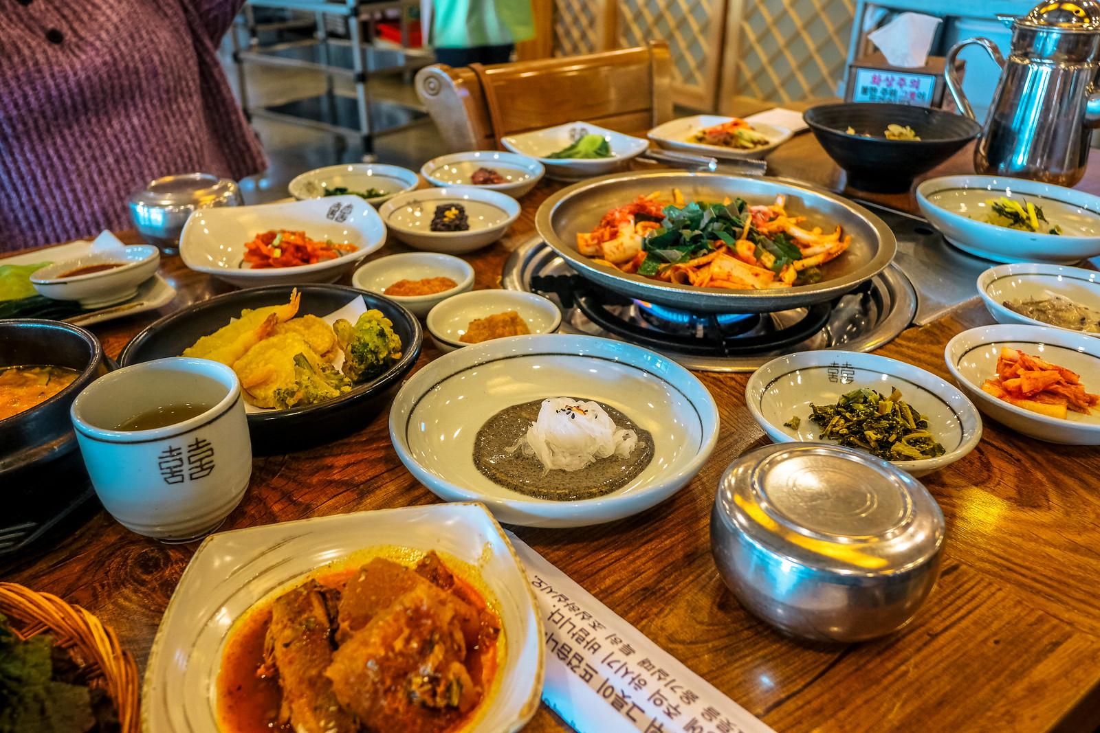 Things to eat in Korea