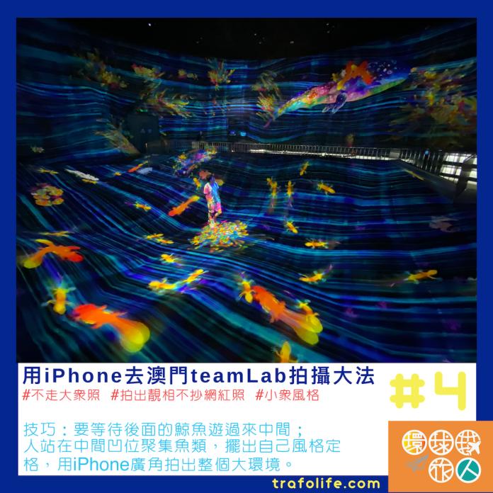 iPhone拍攝 teamLab 4