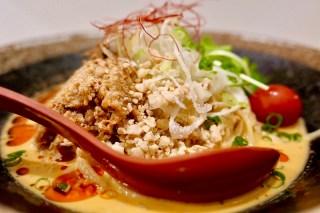 torisoba suzaku tantan「冷し担々麺」の季節になりました。