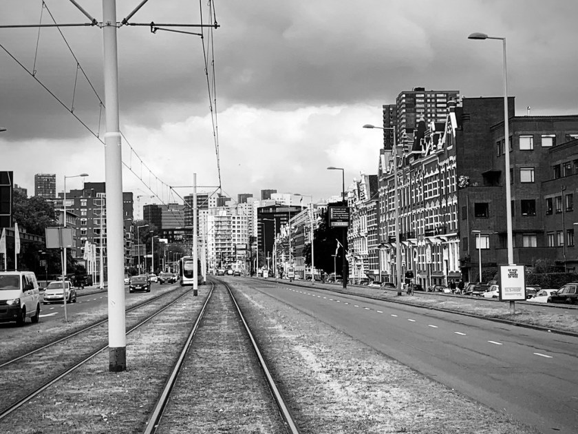 Rotterdam Daily Photo: Westzeedijk, just follow my tracks