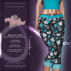 Beth Cat Capris @ Fly Buy Friday 6/19