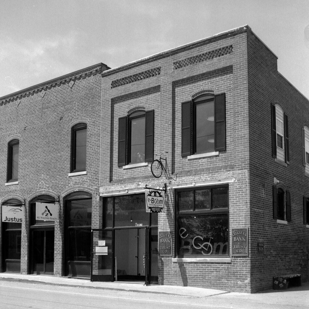 Whitestown storefronts