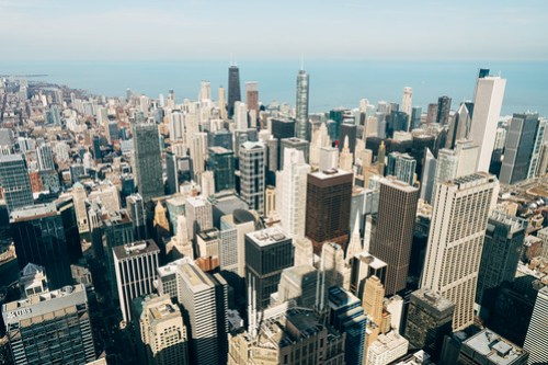 Skydeck at Willis tower, Chicago