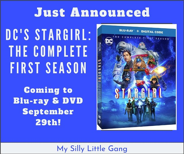 DC's Stargirl: The Complete First Season - Own The Blu-ray & DVD September 29th! @WBHomeEnt #MySillyLittleGang