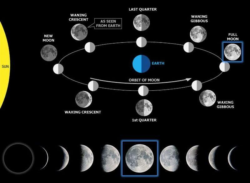 Bentuk Bulan dan Juga Fasenya, Serta Dampaknya Bagi Manusia