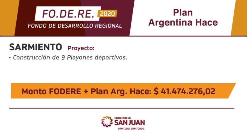 2020-06-23 PRENSA: El Gobierno destina más de $915 millones para la generación de trabajo a través de obras en municipios