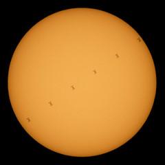 ISS Solar Transit (NHQ202006240003)