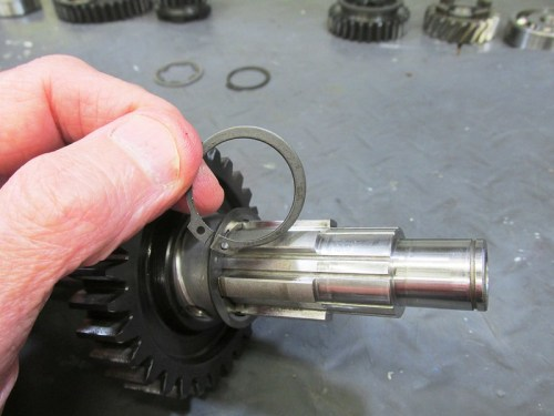 Output Shaft 2nd Gear New Lock Ring