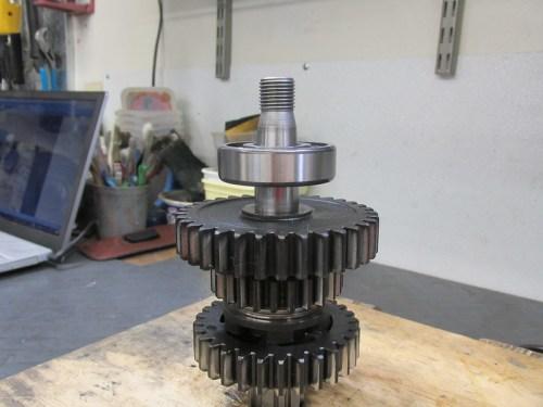 Output Shaft 1st Gear Ball Bearing Is Smaller Diameter Than 5th Gear Bearing