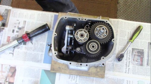 Parts Installed Inside Transmission Case
