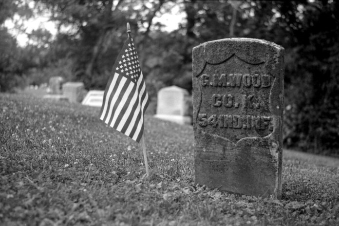 Military grave