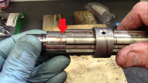 Output Shaft Discoloration On 5th Gear Bushing