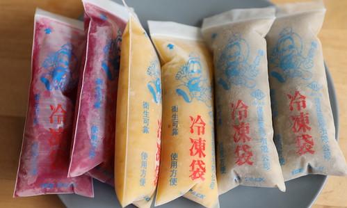 古早味綠豆冰冷凍袋:果汁冰、綠豆冰DIY