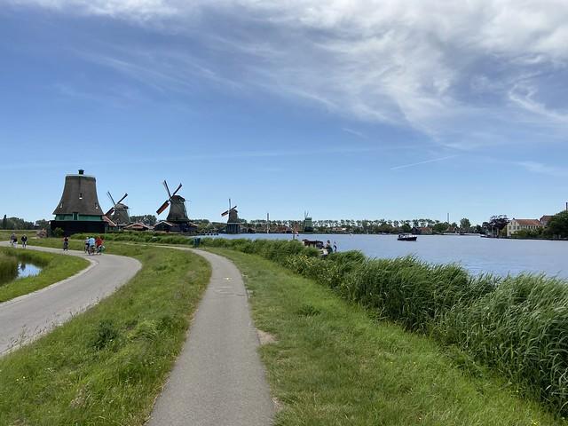 Nederlandse molens aan het water