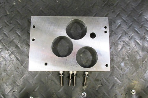 Cycle Works Transmission Measuring Plate Comes With Four Allen Bolts